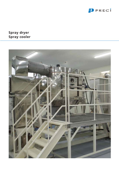 Spray Dryer Spray Cooler