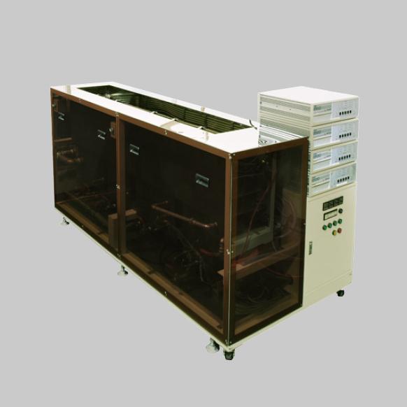 4槽式フッ素系水切り乾燥装置