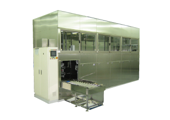 05Full-automatic ultrasonic cleaning system for precision metal parts