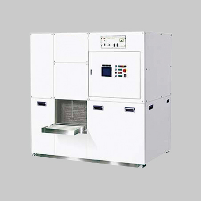 Full-automatic vertical ultrasonic cleaning system